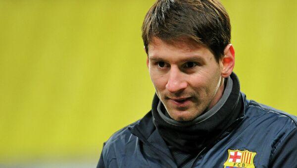 Lionel Messi - Sputnik Azərbaycan
