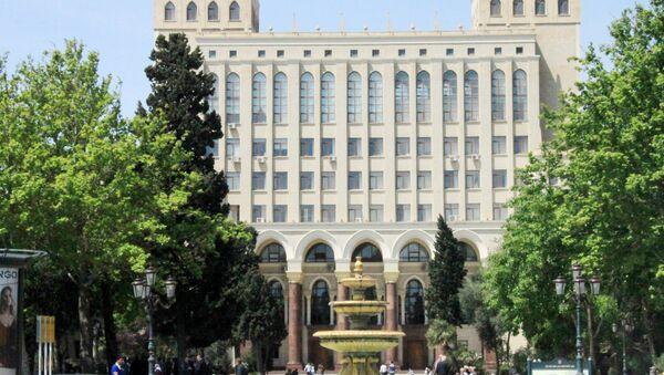 Национальная Академия Наук Азербайджана. Архивное фото - Sputnik Азербайджан