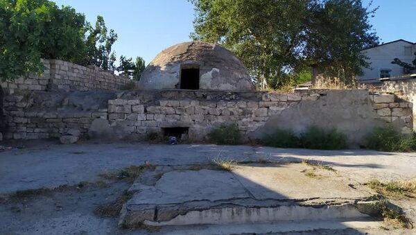 Комплекс хамамов в поселке Маштага - Sputnik Азербайджан