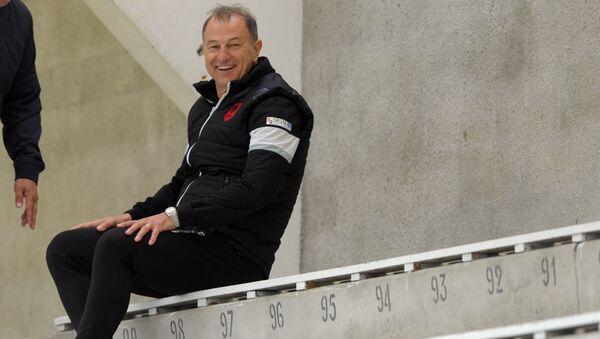 Главный тренер сборной Азербайджана по футболу Джанни Де Бьязи, фото из архива - Sputnik Azərbaycan