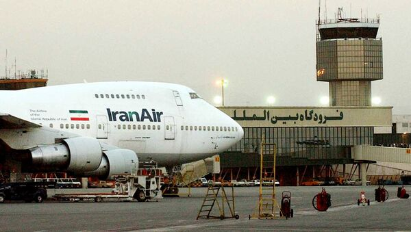 Самолет İran Airlines, фото из архива - Sputnik Азербайджан