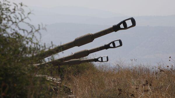 Самоходное артиллерийское орудие, фото из архива - Sputnik Azərbaycan