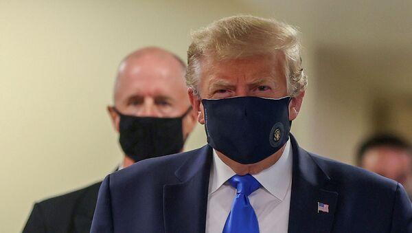 Президент США Дональд Трамп - Sputnik Azərbaycan