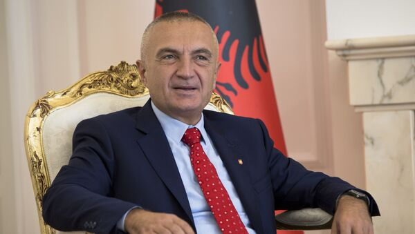 Президент Албании Илир Мета, фото из архива - Sputnik Азербайджан