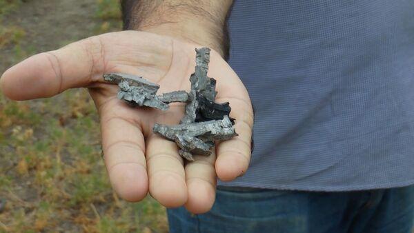 Пока затишье: по следам разорвавшихся снарядов в селе Агдам - Sputnik Азербайджан