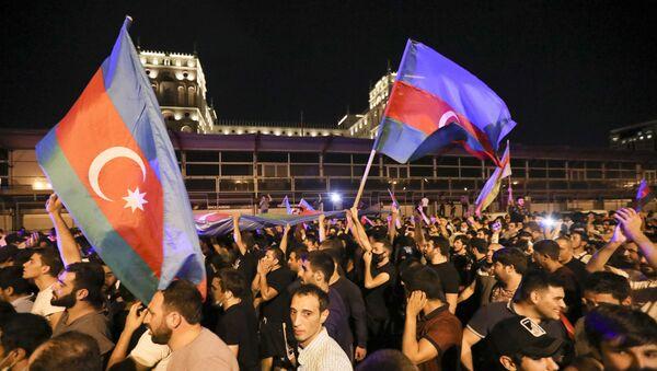 Шествие в Баку, фото из архива - Sputnik Азербайджан