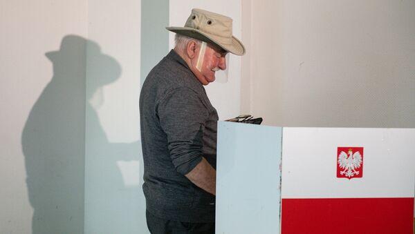 Выборы в Польше, фото из архива - Sputnik Азербайджан