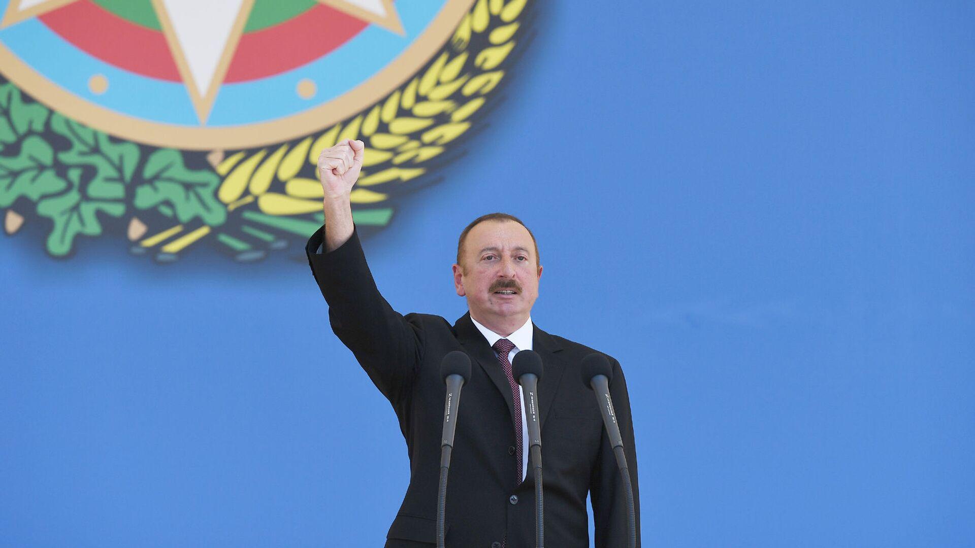 Президент Ильхам Алиев, фото из архива  - Sputnik Azərbaycan, 1920, 27.09.2021