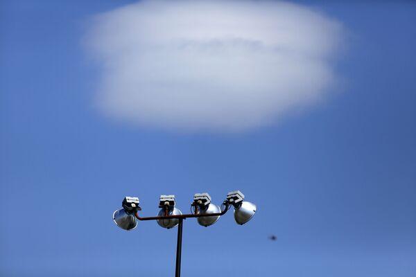 Облако, похожее на летающую тарелку, Филадельфия - Sputnik Азербайджан