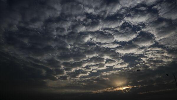 Барханы из облаков, фото из архива - Sputnik Азербайджан