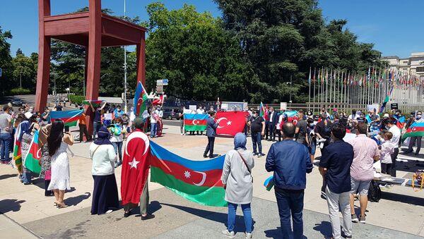 Акция протеста - Sputnik Азербайджан