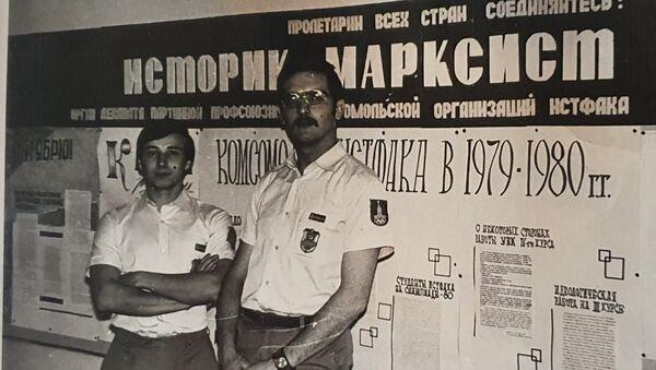 Михаил Брюханов (справа)  - Sputnik Азербайджан