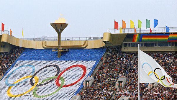 Олимпийские игры в Москве, фото из архива - Sputnik Азербайджан