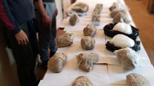 Пакеты с наркотиками, фото из архива - Sputnik Азербайджан