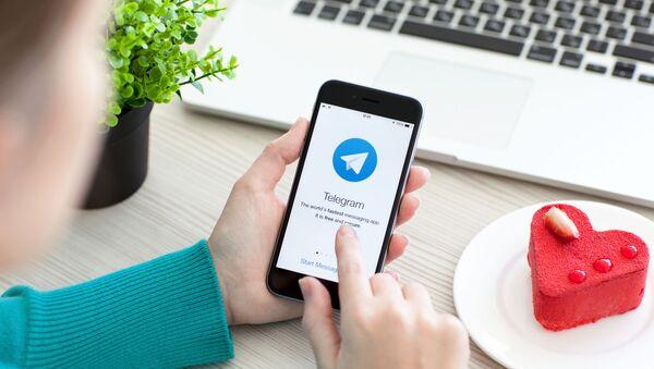 Видеосвязь стала доступной в Telegram - Sputnik Азербайджан