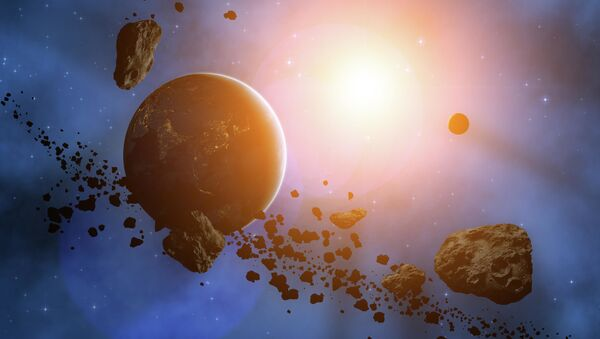 Планета окруженная астероидами - Sputnik Azərbaycan