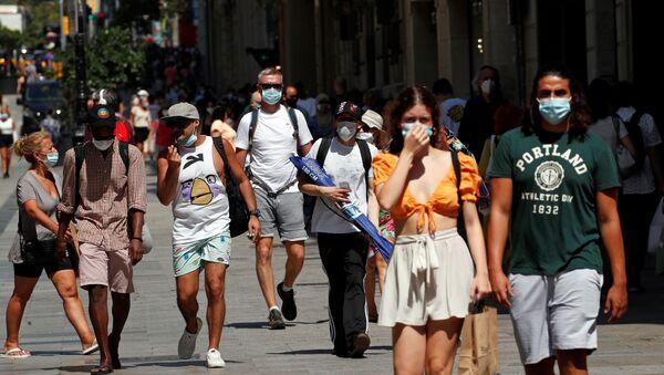 Ситуация в связи с эпидемиологической обстановкой в Испании, фото из архива - Sputnik Azərbaycan