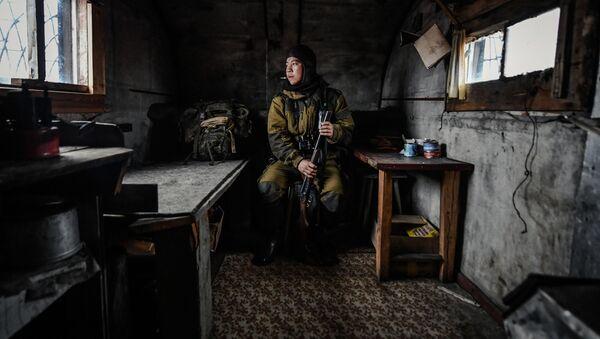 Фотография Юрия Смитюка Остров Врангеля:  Научный сотрудник и инспектор одноименного заповедника Павел Кулемеев - Sputnik Азербайджан