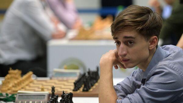 Российский шахматист Даниил Дубов, фото из архива - Sputnik Азербайджан