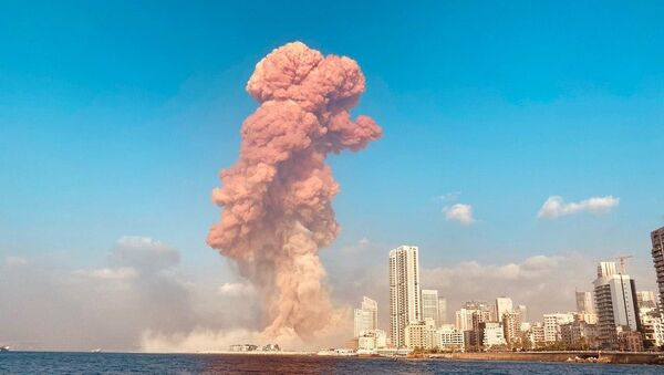 Взрыв в Бейруте - Sputnik Азербайджан