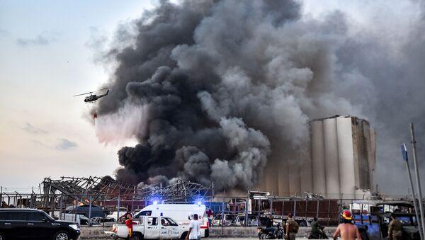 Взрыв в Бейруте - Sputnik Azərbaycan