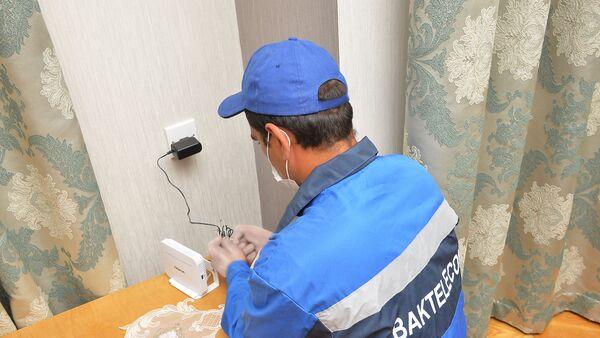 Проводка волоконно-оптического кабеля - Sputnik Азербайджан