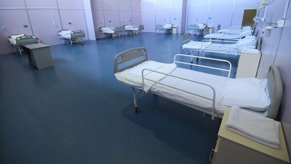 Говсанский олимпийский спортивный комплекс, переоборудованный в клинику модульного типа - Sputnik Азербайджан