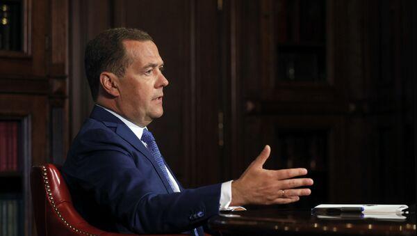 Заместитель председателя Совбеза РФ Д. Медведев, фото из архива - Sputnik Азербайджан