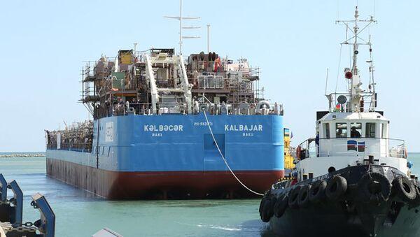 """""""Kəlbəcər"""" tankeri - Sputnik Азербайджан"""