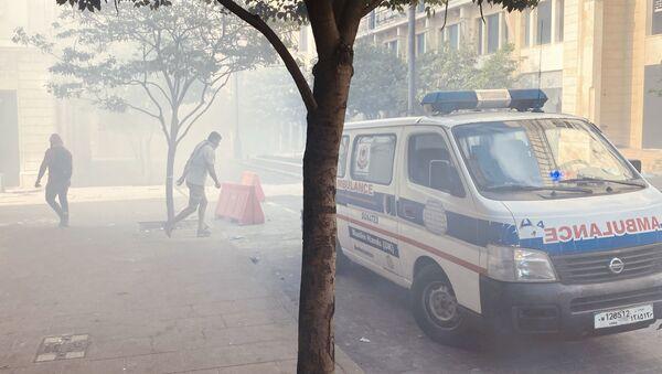 Столкновения в центре Бейрута - Sputnik Азербайджан