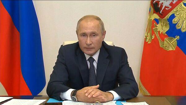 Putin Rusiyanın ilk COVID-19 əleyhinə peyvəndinin qeydiyyatını elan edib  - Sputnik Azərbaycan