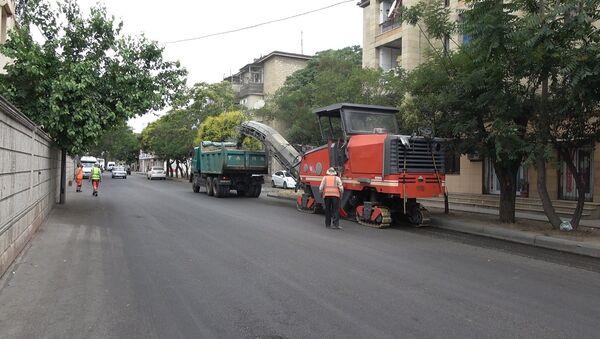 Biləcəri qəsəbəsində - Sputnik Азербайджан