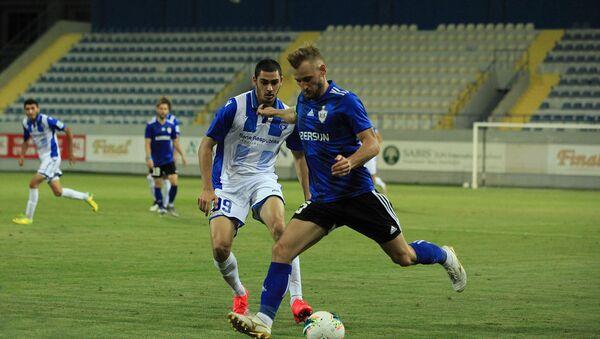 Товарищеский матч между ФК Карабах и ФК Сабах - Sputnik Азербайджан