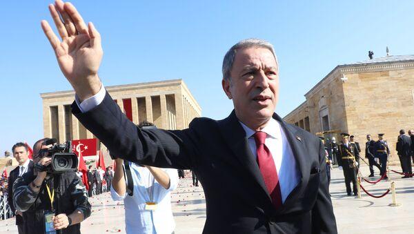 Министр национальной обороны Турции Хулуси Акар - Sputnik Азербайджан
