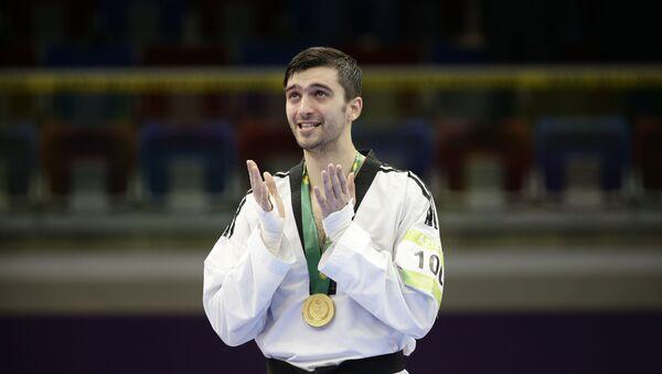 Таэквондист Рамин Азизов, фото из архива - Sputnik Азербайджан