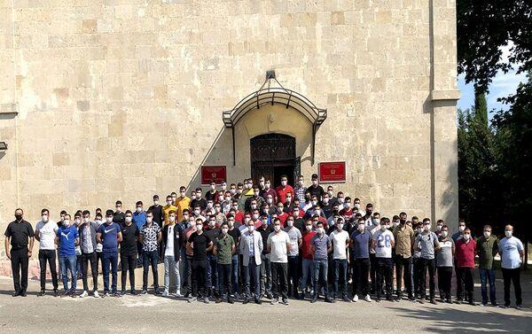 В выходные дни был организован культурный досуг турецких военнослужащих - Sputnik Азербайджан