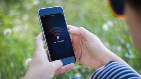 Смартфон без сети - Sputnik Азербайджан