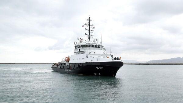 Буксирное судно СБ-738 - Sputnik Azərbaycan