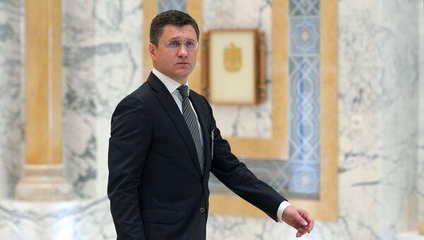 Министр энергетики РФ Александр Новак, фото из архива - Sputnik Азербайджан