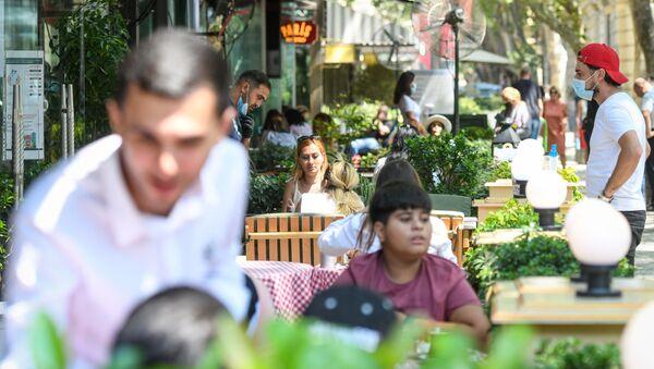 Bakıda restoranların fəaliyyəti - Sputnik Азербайджан