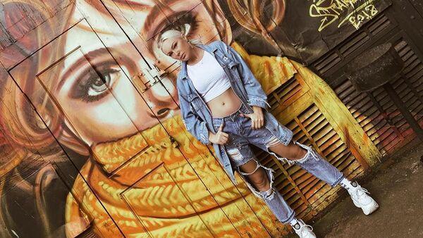 Азербайджанская модель Кристина Замир, фото из архива - Sputnik Азербайджан