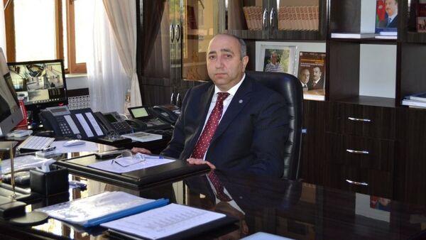 Глава Исполнительной власти Кюрдамирского района Джейхун Джафаров - Sputnik Азербайджан