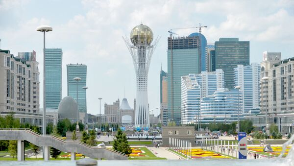 Вид на Нур-Султан, фото из архива - Sputnik Азербайджан