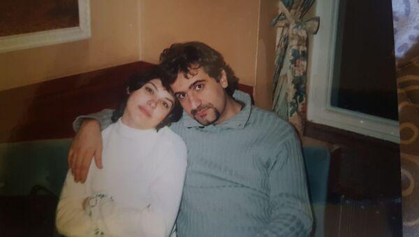 Эльдар Алиев с Яной Мазуровой - Sputnik Азербайджан