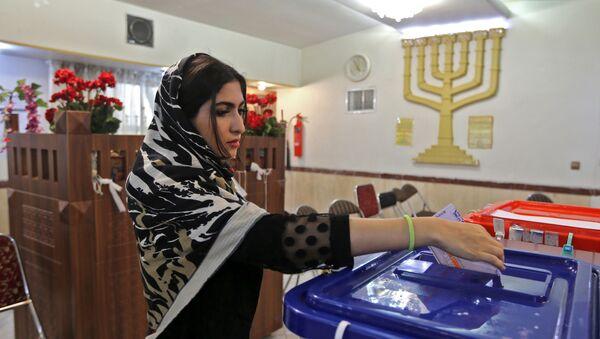 Выборы в Иране, фото из архива - Sputnik Азербайджан