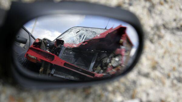 Автомобильная авария, фото из архива - Sputnik Азербайджан