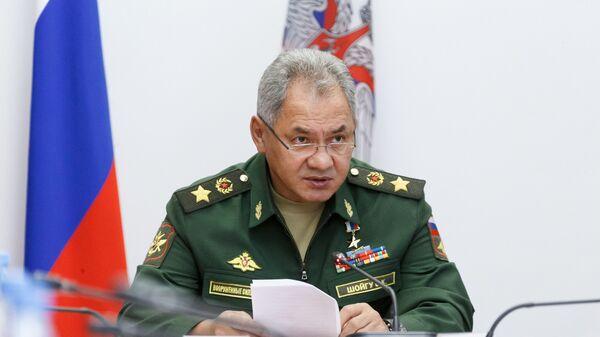 Rusiyanın müdafiə naziri Sergey Şoyqu - Sputnik Azərbaycan
