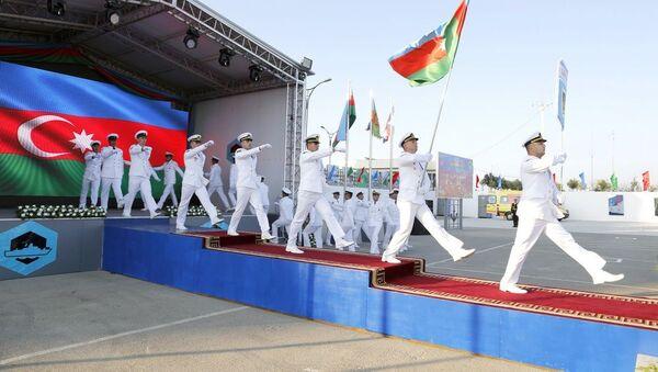 Церемония открытия конкурса Кубок моря - Sputnik Азербайджан