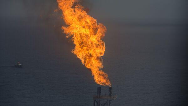 Газовое месторождение, фото из архива - Sputnik Азербайджан