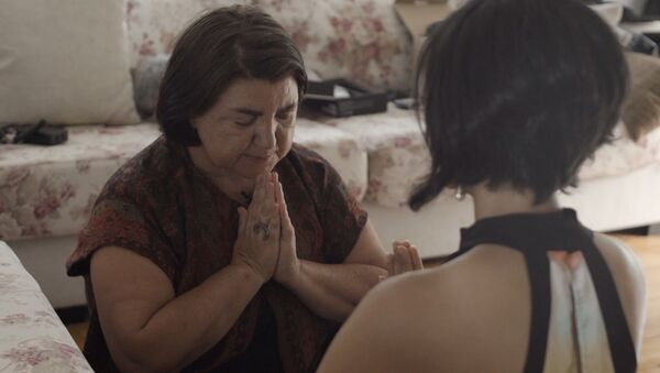 Кадр из фильма Диалоги с Зулейхой - Sputnik Азербайджан
